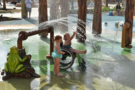 parco acquatico al mondo per disabili